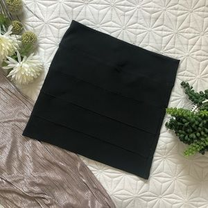Bodycon Bandage Black Mini Skirt